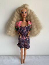 Barbie Doll Mattel Vintage Blonde Dress & Jewellery Excellent Condition Toy