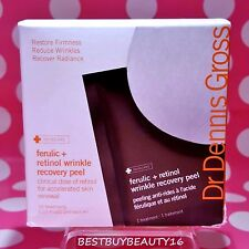 Dr Dennis Gross FERULIC RETINOL WRINKLE RECOVERY Peel 16 Treatments In Box NEW!