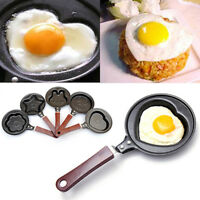 1Pcs Mini Egg Pancake Frying Pan Non-Stick Breakfast Egg Kitchen Tool Cooker Pot