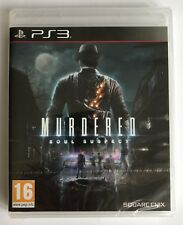 PS3 Murdered Soul Suspect (2014), UK Pal, Brand New & Sony Factory Sealed