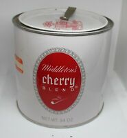 Middleton's Cherry Blend tobacco tin canister