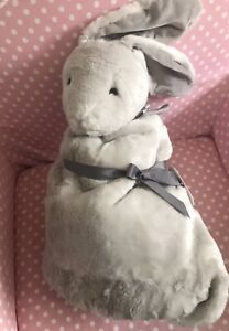 pottery barn kids monique lhuillier bunny rabbit security blanket nwt new