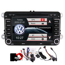 7'' Autoradio 2 Din DVD Stéréo GPS Touchscreen pour VW Passat T5 Golf MK5 MK6