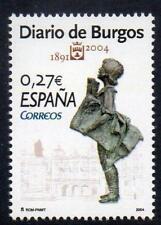 SPAGNA 2004 Gomma integra, non linguellato SG4027 113th ANNIVERSARIO del QUOTIDIANO Diaro DE BURGOS