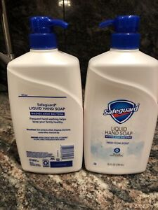 2 Safeguard Liquid Hand Soap Micellar Deep Cleansing Clean Scent 25 oz Brand New
