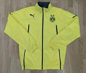 Original Puma Jacke Borussia Dortmund, Size: M, BVB, Windjacke, Trainingsjacke