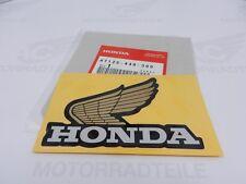 Honda Tank-Aufkleber Flügel Links Original