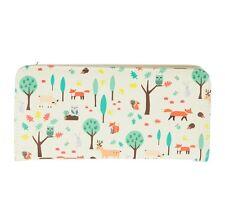 Animal Themed Bifold Women's Wallet / Ladies Woodland Animals Fox Purse Gift