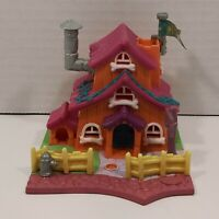 "Vintage 1994 Bluebird Polly Pocket Barclay's Cottage Dog House ""No Dolls"" VG+"
