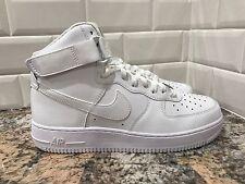 Nike Air Force 1 One High White White Men SZ 9.5 315121-115 Retro Uptown