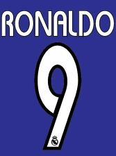 Ronaldo 9 Real Madrid 2003-2004 Camiseta de fútbol local para lejos