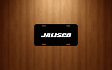 Jalisco Mexico Auto Novelty Black Aluminum License Plate Tag