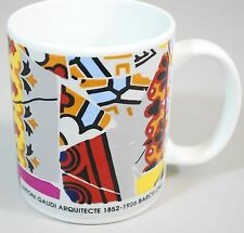 Antoni Gaudi Arquitecte Design Coffee Mug 1852-1926 Barcelona Spain