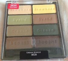 1 BLACK RADIANCE/WET N WILD 8 PAN PALETTE EYESHADOW URBAN JUNGLE #8028