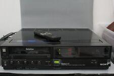 Sony Betamax Vintage  Beta Hifi Stereo Cassette Recorder SL-HF300