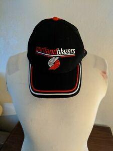 NBA Portland TrailBlazers Basketball Nike Team Hat Black Size Large/XL