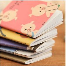 7pcs Portable Mini Notepad Handy Pocket Memo Small CartoonNotebook Stationery