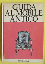 TEDESCHI STAMPA-GUIDA AL MOBILE ANTICO-MONDADORI 1967-L2656