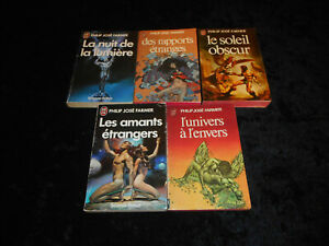 Lot Philip José Farmer 5 tomes