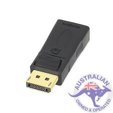 1 x Display Port DP Male to HDMI Female Connector Converter Adapter (051)