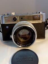 Yashica Lynx-14E 35mm Rangefinder Camera