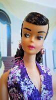 ~~  Beautiful Vintage Brunette Barbie Ponytail OOAK by JUDY ORIGINALS!!  ~~