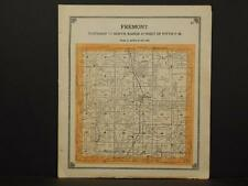 Iowa Clark County Map Fremont Township 1909 W1#81