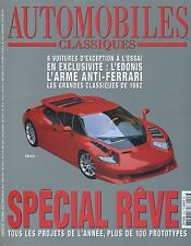 AUTOMOBILES CLASSIQUES n°126 11/2002 EDONIS BMW Z4