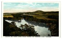 Holston and French Broad River forming the Tennessee River, TN Postcard *247