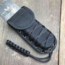 """Heavy Duty Molded Black Nylon Tactical Folding Knife Sheath Fits Up to 5"""" New!"""