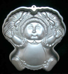 Wilton Cake Pan Cabbage Patch Doll 2105-1984
