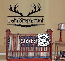 Eat Sleep Hunt~ Wall or Window Decal