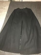 Zara Cape Jacket Coat Black M