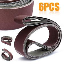 """2"""" X 72"""" Cutter Makers Fine Grit Sanding Belts 6 Pack Assortment"""