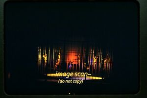 Topless Women in a Show in early 1950's, Kodachrome Slide dia f6a