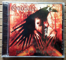 GODHATE / EQUAL IN THE EYES OF DEATH - CD (Slovakia 2009) SIGILLATO / SEALED