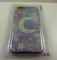 Fits Iphone 6 , 7 & 8  phone case moon celestial theme stars