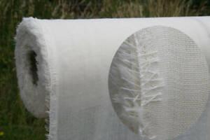 10m Wollmousseline / Etamine de Laine - naturweiß 155 cm breit 12,99€/m