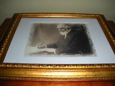 Pastor Russell Antique Signature Photo Watchtower Jehovah IBSA