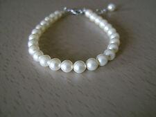 Bracelet couleur Ivoire p robe de Mariée/Mariage/Soirée, imitation perle culture
