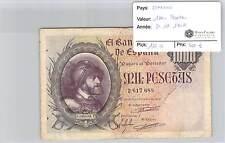 BILLET ESPAGNE - 1000 PESETAS - 21-10-1940 - RARE!!!!