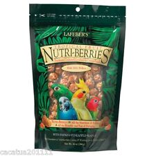 LARGER:  LAFEBER NUTRIBERRIES TROPICAL FRUIT 300G-COCKATIEL FOOD/ ULTIMATE TREAT