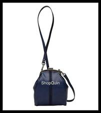 MIMCO Liliput HipBag Clutch Handbag Runway Selected Style - in INDIGO BLUE