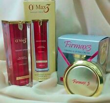 FIRMAX3 MIRACLE CREAM FIRMING LIFTING  + O2MAX3 RADIANT SERUM ANTI AGING