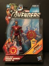 Marvel Universe IRON MAN Figure Fusion Armor Mark VII Avengers Movie Series #11