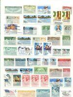 USA 1893 - 1990 gest. Lagerbuch mit über 2100 Briefmarken