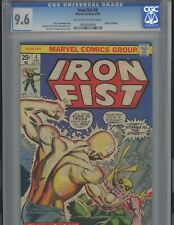 Iron Fist #4  9.6. CGC. Marvel