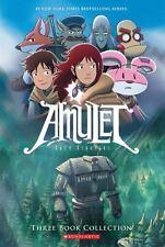 AMULET 1-3 - KIBUISHI, KAZU - NEW PAPERBACK BOOK