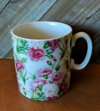 Beautiful Floral Coffee Mug Euc Unbranded!