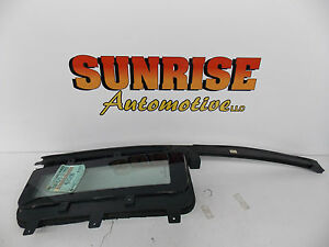 1990 1991 1992 1993 CHRYSLER IMPERIAL RIGHT REAR VENT WINDOW GLASS